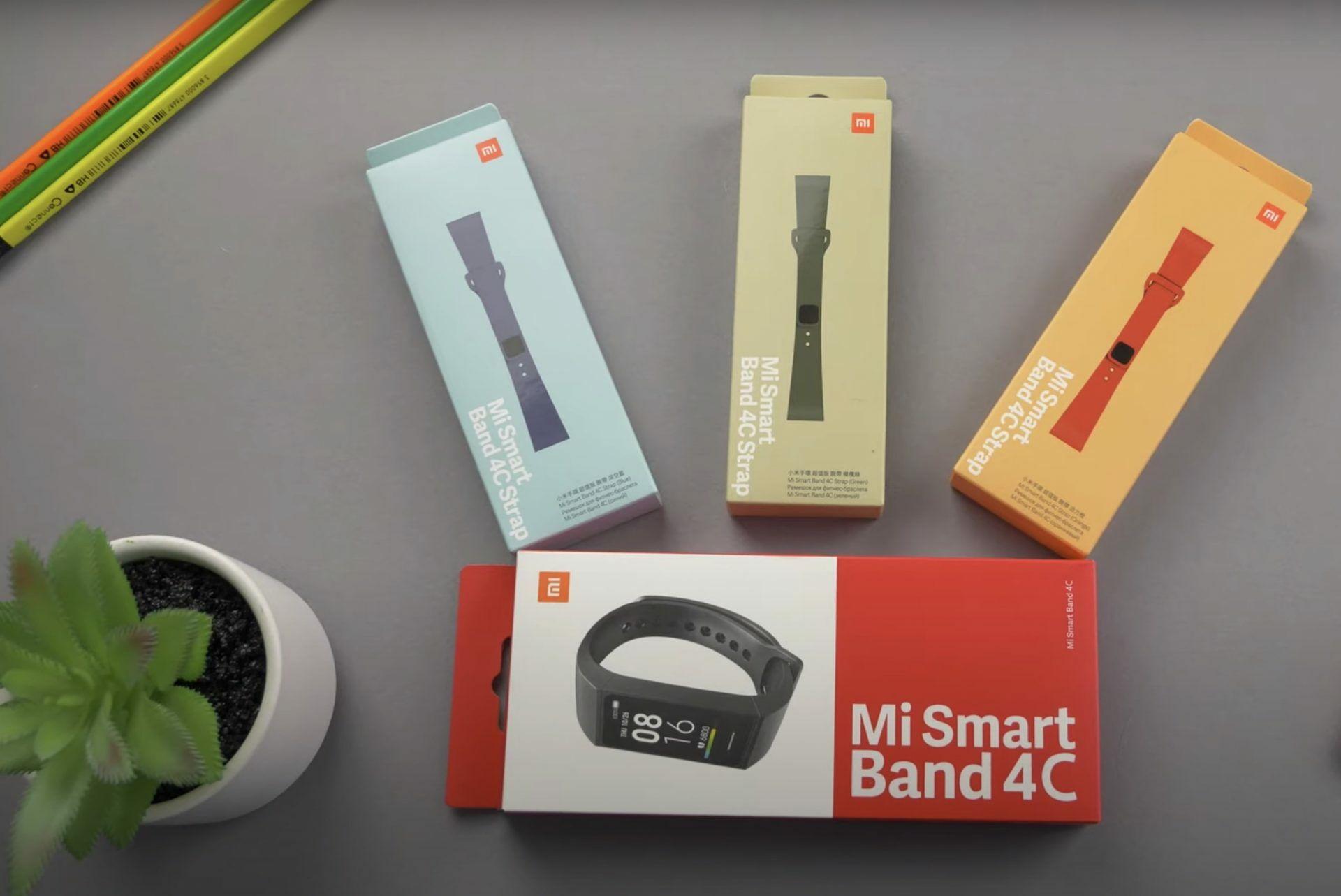 Xiaomi Mi Smart Band 4C bemutató