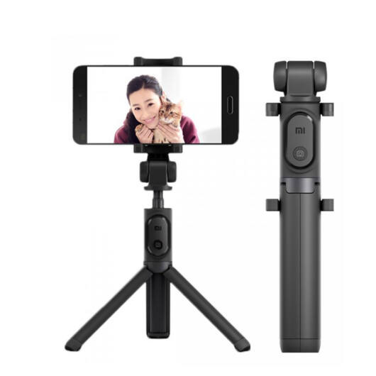 Xiaomi Mi Selfie Stick Tripod Bluetooth selfie bot - Fekete