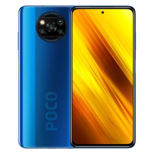 Poco X3 NFC 6/128 okostelefon - Cobalt Blue