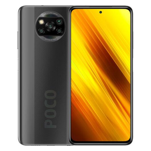 Poco X3 NFC 6/128 okostelefon - Shadow Grey