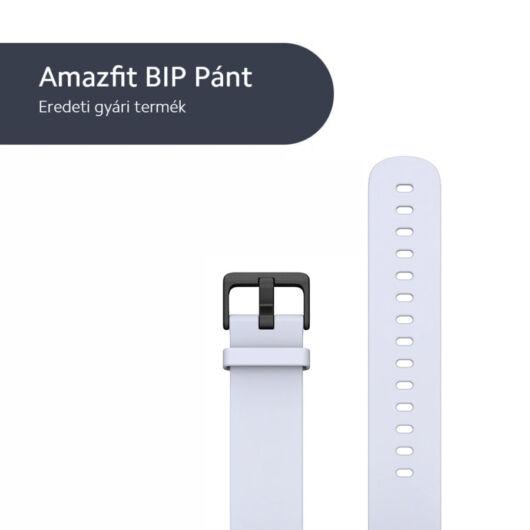 Xiaomi Amazfit BIP szíj, gyári, OEM, világosszürke