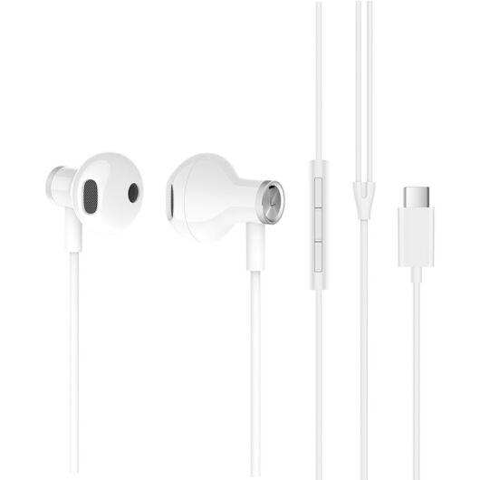 Xiaomi Mi Dual Driver Earphones (Type-C) sztereó fülhallgató - FEHÉR